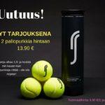 1.9. alkaen Robin Söderling -tennispallot tarjoushintaan!