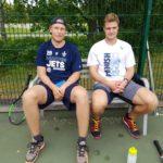 """Patrik Laine ja Aleksander """"Sasha"""" Barkov jr"""