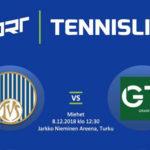 Miesten Tennisliigaa la 8.12. klo 12:30