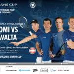 Davis Cup -lippuja vielä saatavana!