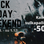 Black Friday Weekend 29.11. - 1.12.