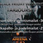 Lisää tarjouksia Black Friday -viikonlopulle 29.11. - 1.12.!